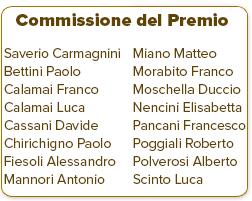 La commissione del premio