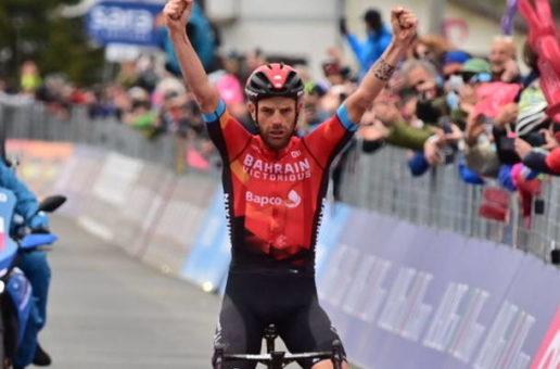 Dopo il Giro d'Italia Caruso guida il Giglio d'Oro